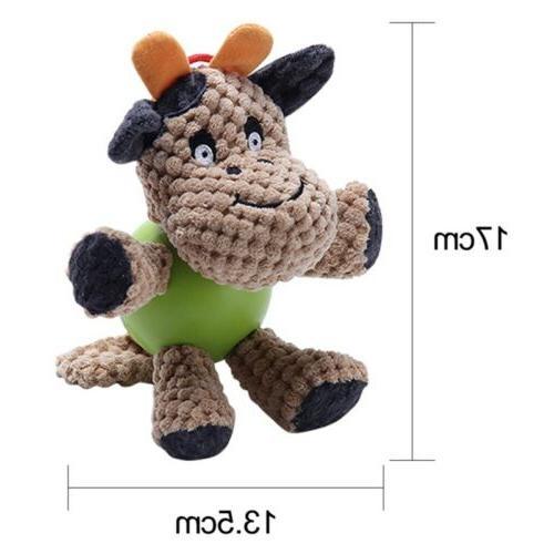 Puppy Dog Toys Squirrel Cotton Bird Bite Toys