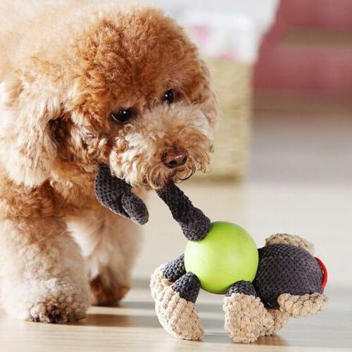 Puppy Plush Dog Toys Pet Cotton Bite Toys
