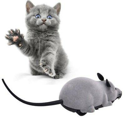 US Remote Control Mouse Rat  Wireless Pet Cat Dog Play Inter
