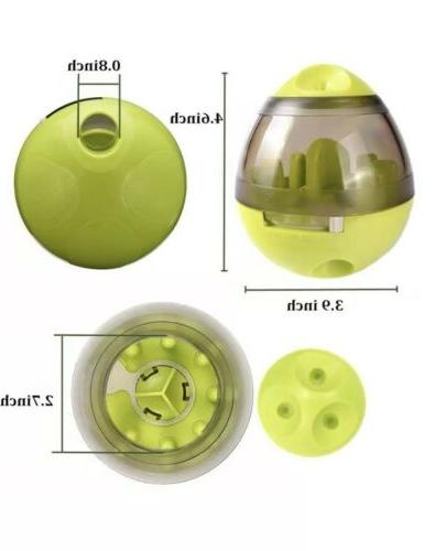 Pet Dog Food Dispenser Feeder Puzzle Ball US