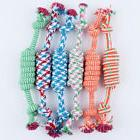 Pet Dog Knot Toys Puppy Dog Cat Rope Type Dumbbell Toys Dogs
