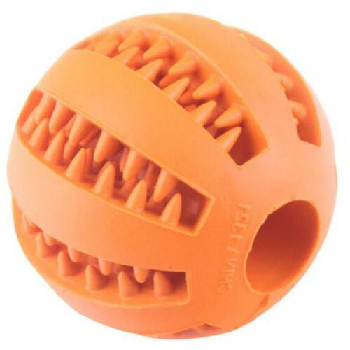 Pet Dog Training Dental Ball Treat Holder B