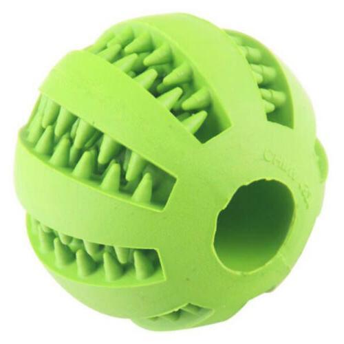 Pet Puppy Cat Training Rubber Ball Holder
