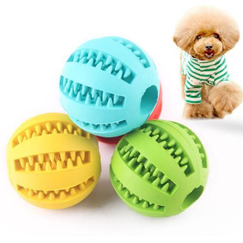Pet Cat Training Toy Ball Chew Treat Holder