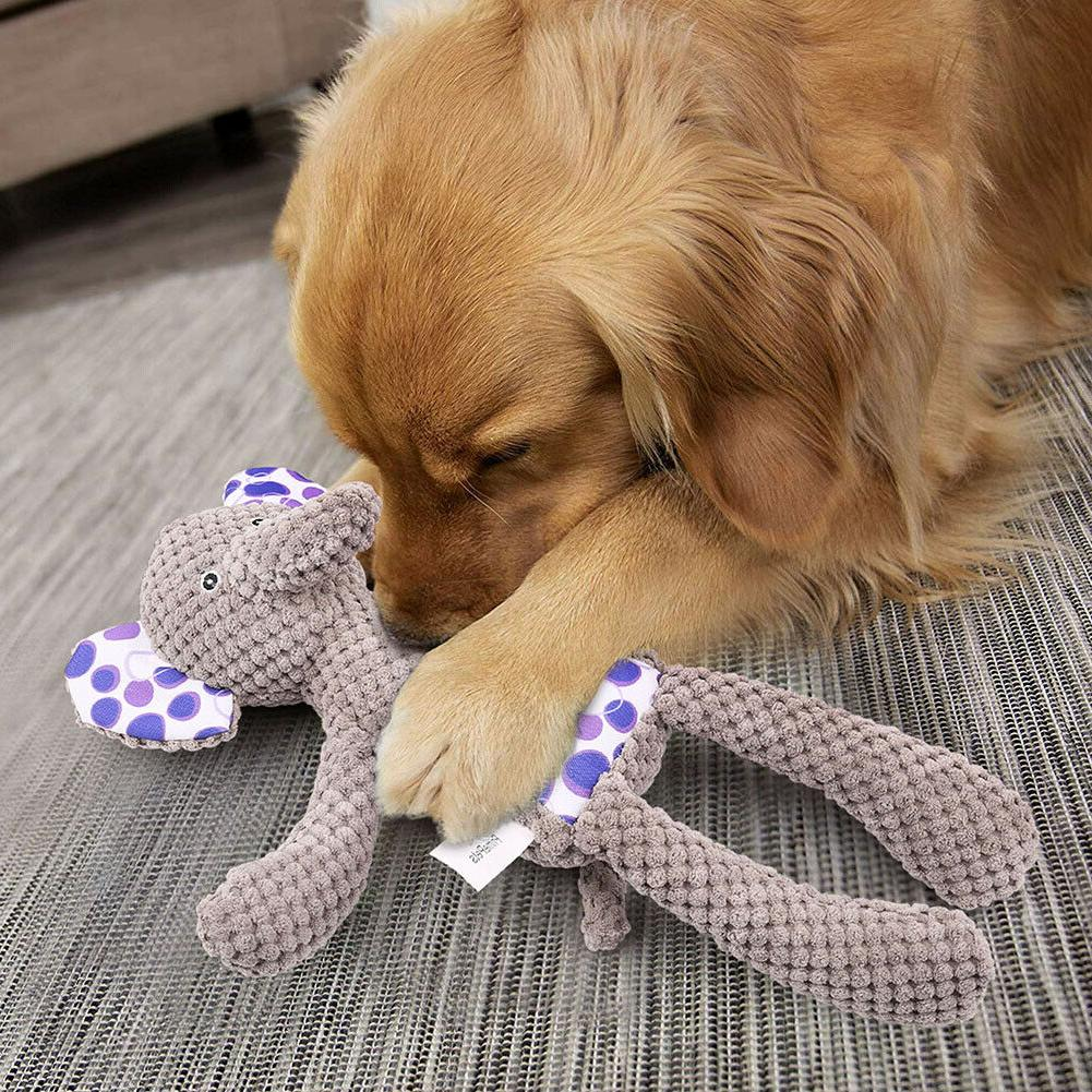 4 Dog Toys Plush for Puppy Small Dogs Pets