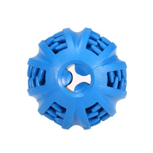 Tough-Treat Ball Food Interactive Puppy Play Toys
