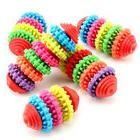 Pet Dog Teething Healthy Teeth Gums Chew Toy Durable Rubber