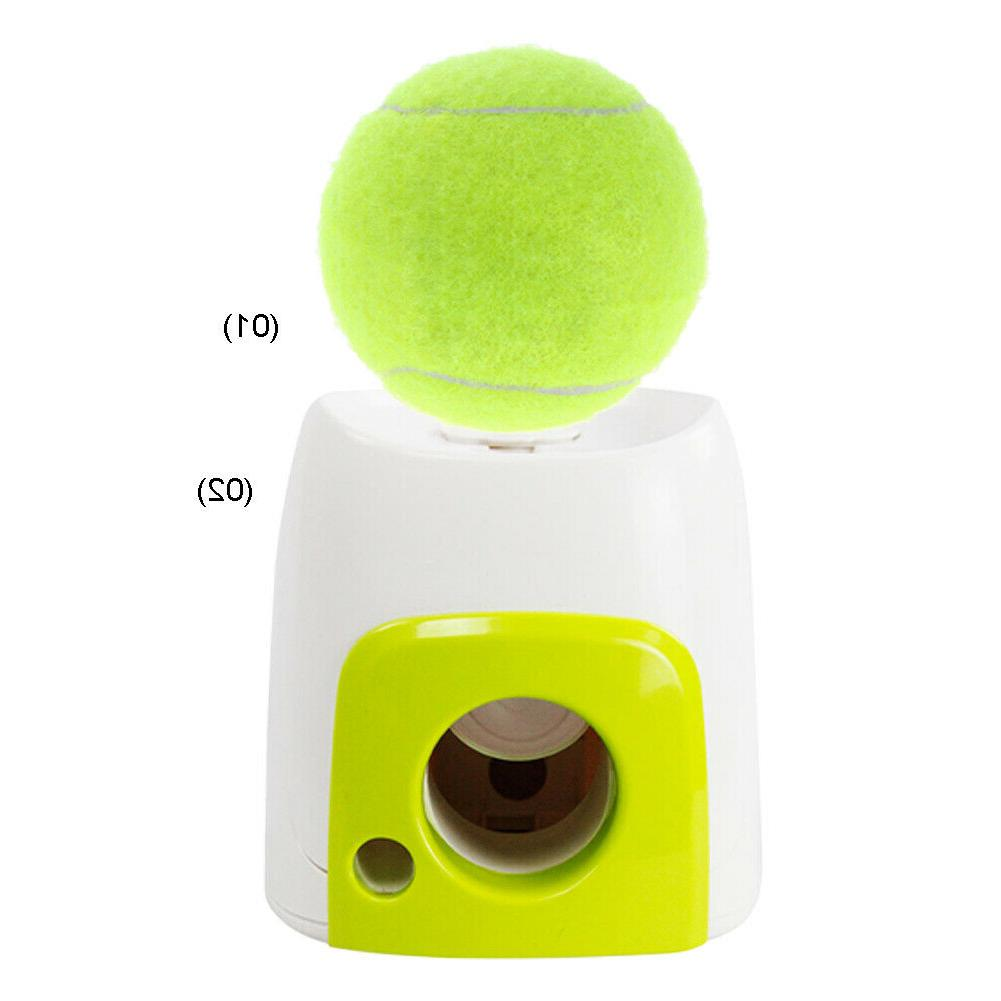 Automatic Pet Dog Launcher Tennis Ball Toy Interactive Fetch