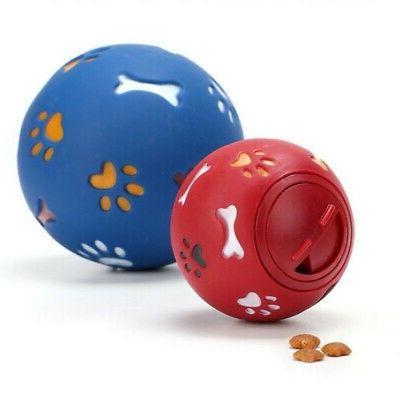 Pets Dog Food Dispenser Treat Ball Feeder Puppy Cat Interact