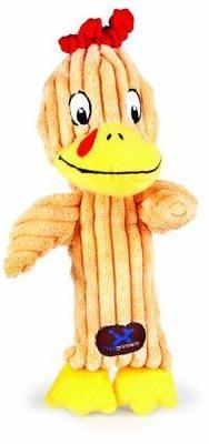Charming Pet Heads Pet Squeak Toy, Chicken