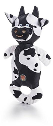 Charming Pet Products Patches Large Cow Toy