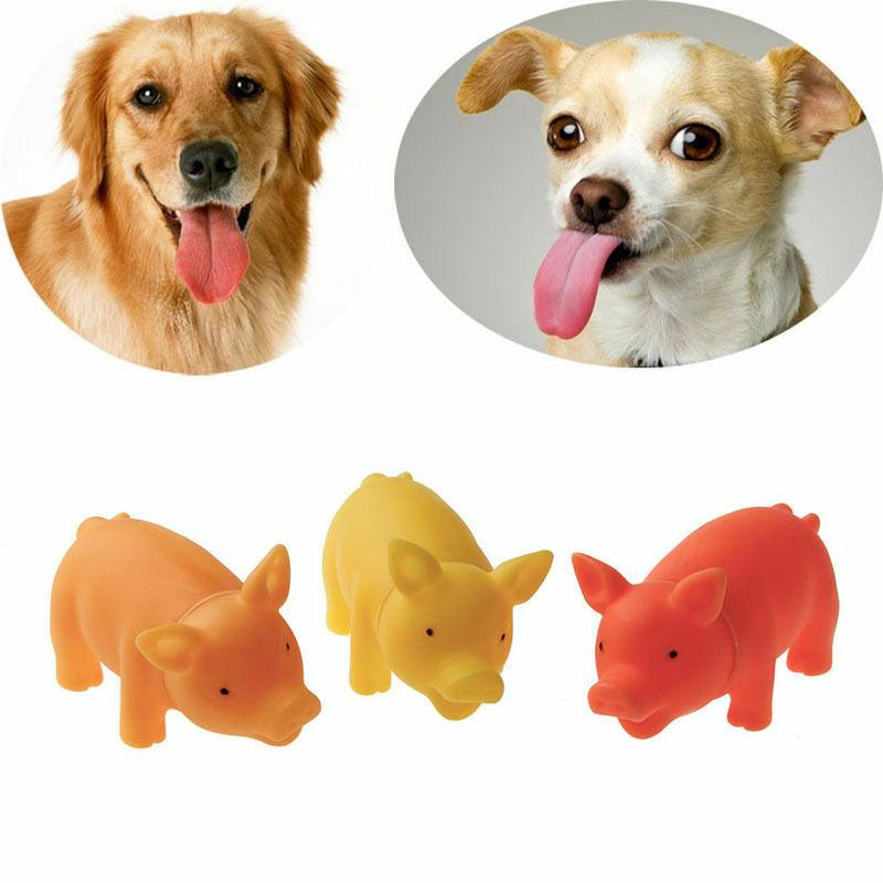 Cute Puppy Chew Squeaker For Dog Sound Pig