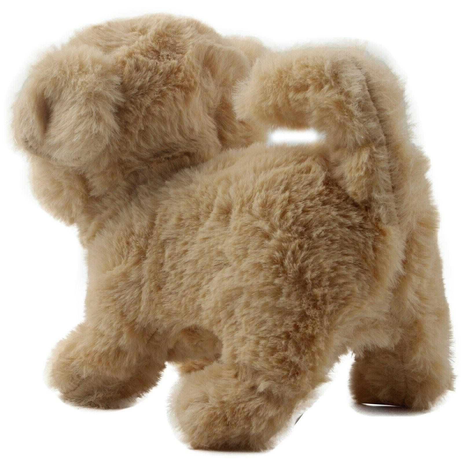Playful Puppy Walks Barks Wags Tail Interactive TC-32