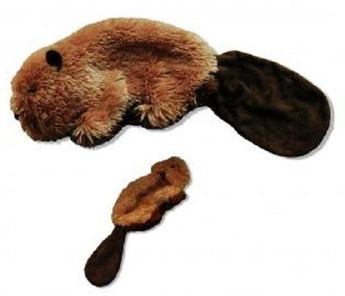 Kong Beaver Dog with Stuffing - Small