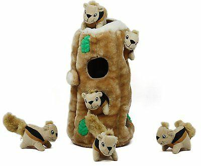 Outward Plush HIDE Dog Puzzle Toy