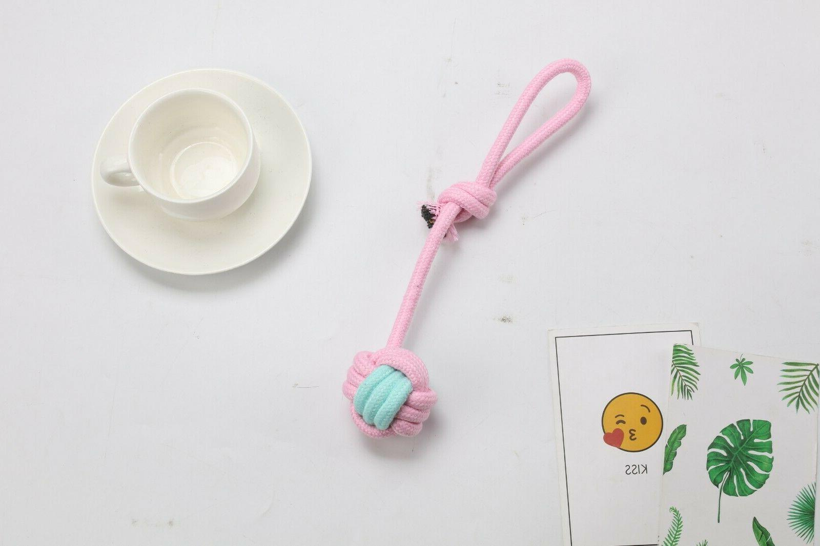 Pretty Chew Rope Toys Puppy and Small PCS