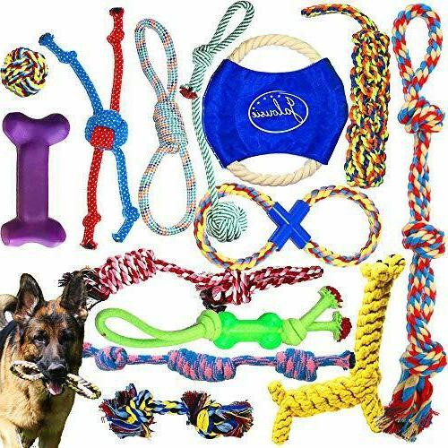 puppy chew dog rope toy