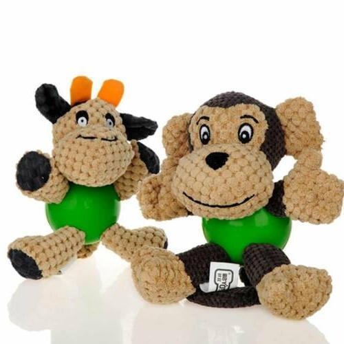 Puppy Chew Plush Cotton Bite Toys