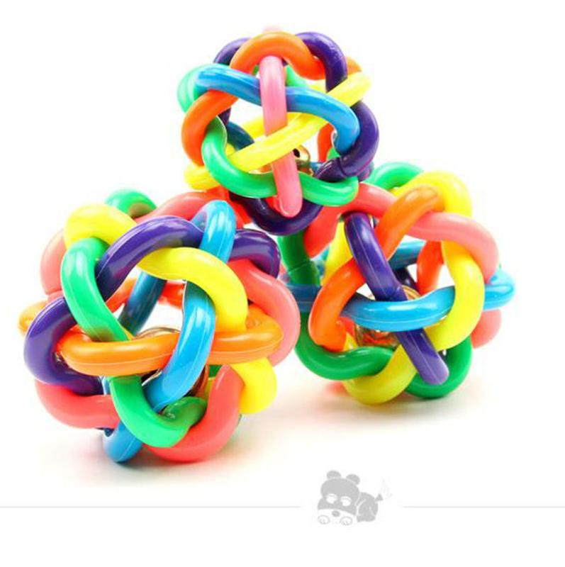 Puppy Dog Colorful Dental Teething Chew Play Toy