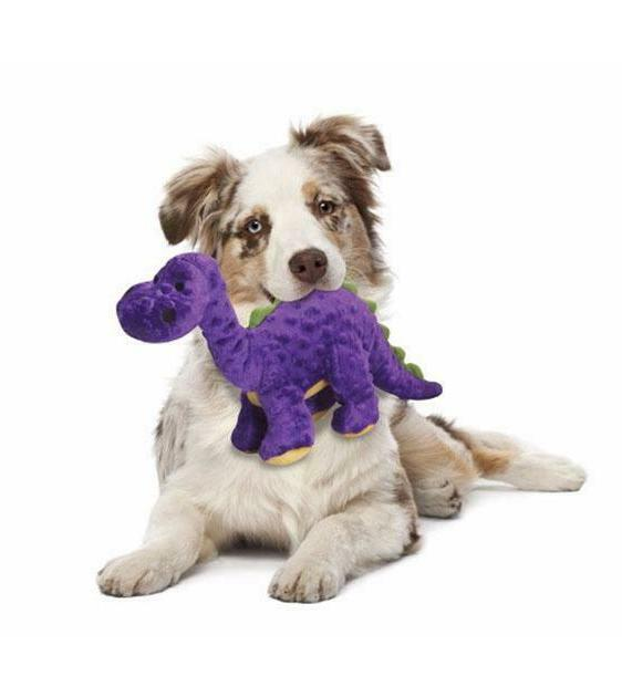 purple bruto dog toys choose from three