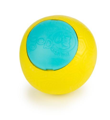 goDog Rhino Play Beast Toy, Junior, Yellow