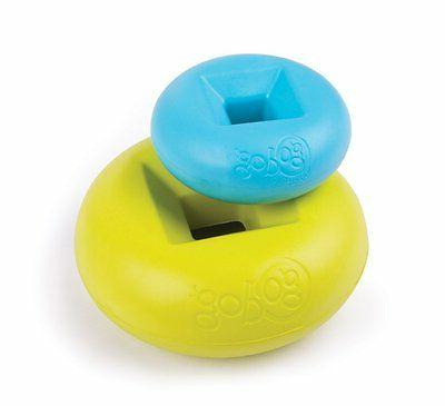 GoDog RHINO PLAY DOG Safe & Non YELLOW,