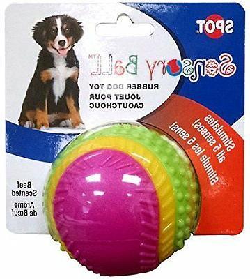 sensory ball dog toy