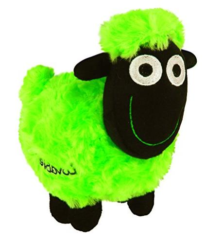 sheep soft toy queasy green