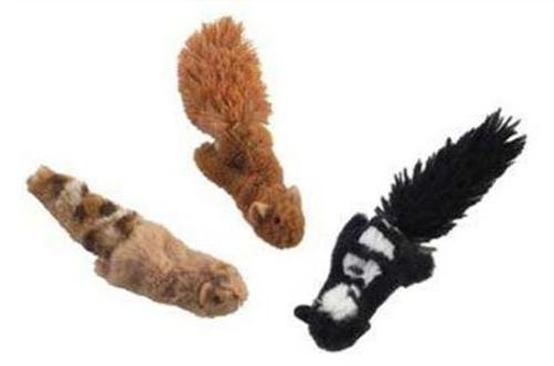 """Skinneeez Cat Toys, 3"""" Forested, Creature May Vary"""