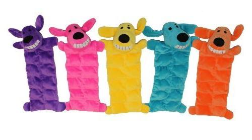 squeaker mat soft plush dog