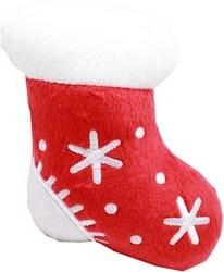 Mirage Pet Products 40-35 Squeaky Toy Stocking, 4""
