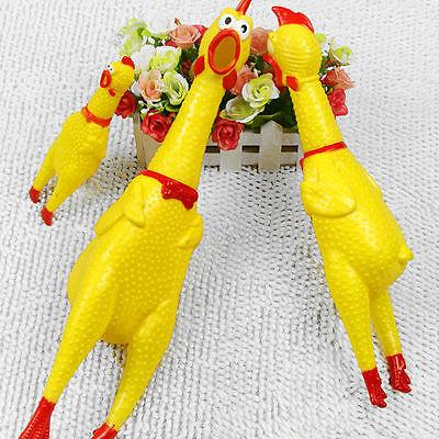 Squeeze Shrilling Screaming Chicken Toy Chewing Toy