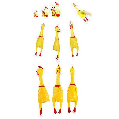 Squeeze Shrilling Chicken Toy