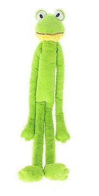 Multipet Swingin Slevin XXL Oversized 30-Inch Green Frog Plu