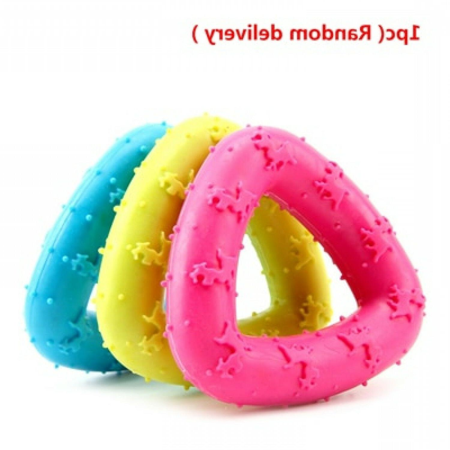 Toys Small Rubber Pet Ring Resistance To Bite Teeth