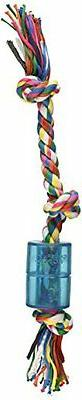 Mammoth 14-Inch TPR Squeaky Cloth Rope, Medium
