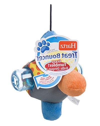 treat bouncer dispensing dog toy