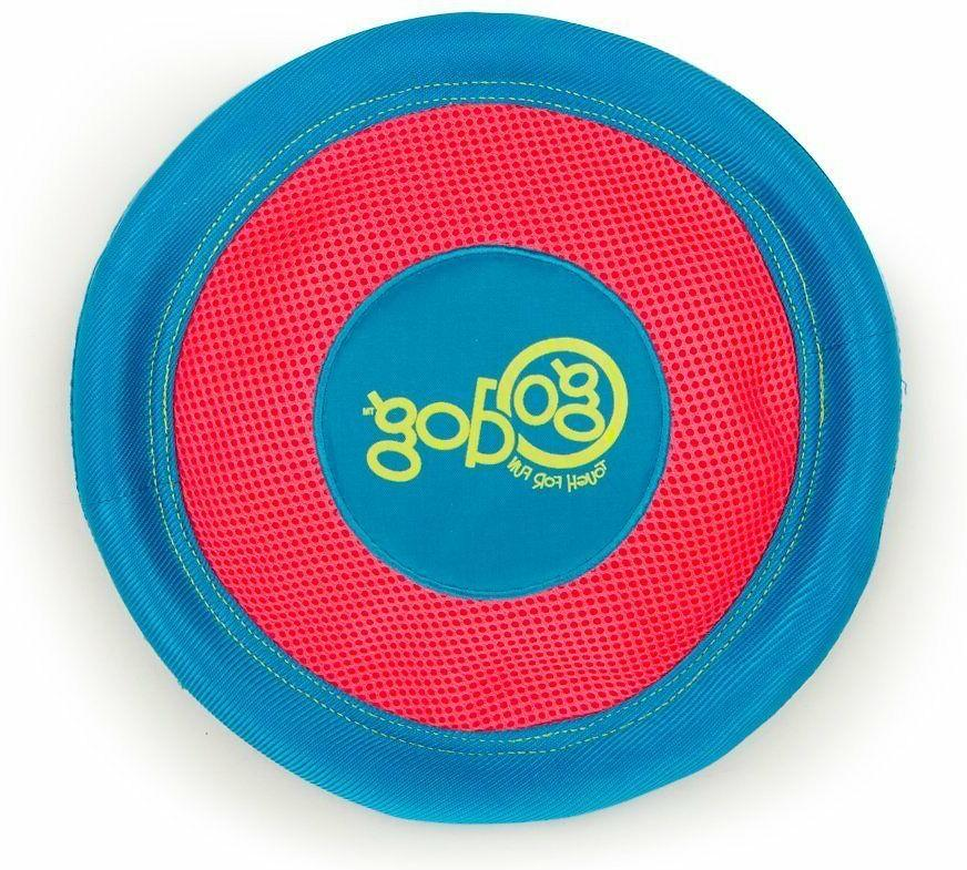 ultimate disc tough chewguard soft dog frisbee