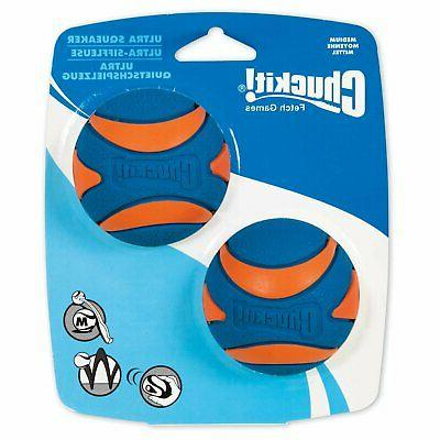 Ultra Squeaker Chew Toy 2 Pack Medium Toys Dog Supplies Pet