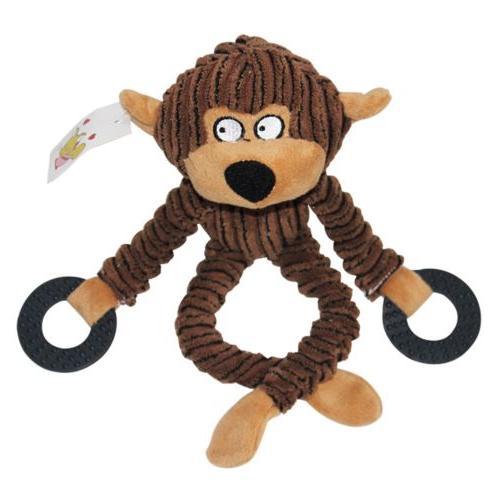 Unstuffed Plush Pet Funny Sound Toy