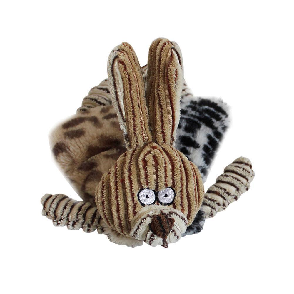 Unstuffed Plush Puppy Pet Sound Toy