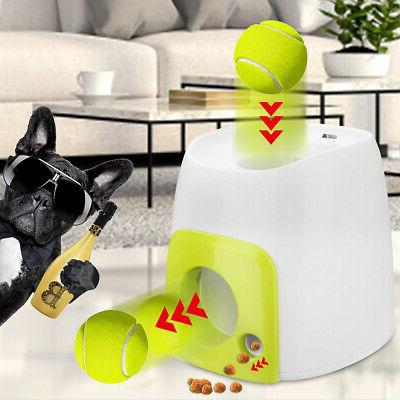 Automatic Pet Dog Launcher Tennis Toy Fetch Thrower