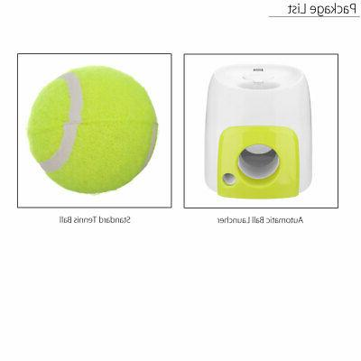 Automatic Pet Launcher Tennis Interactive Fetch Chucker ABS