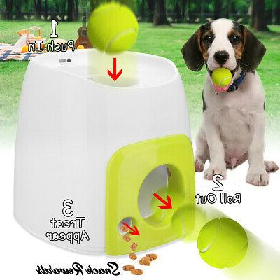 automatic pet dog launcher tennis ball toy
