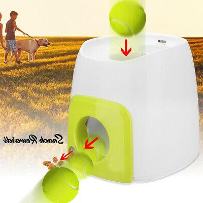 USA Automatic Launcher Tennis Ball Toy Interact Fetch Thrower