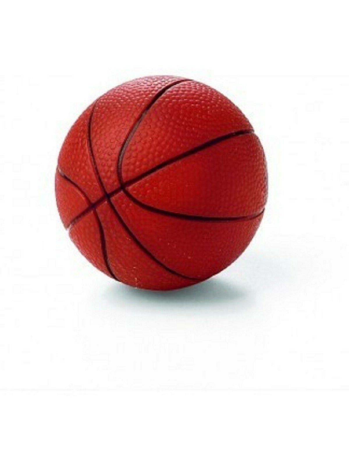 vinyl basketball dog toy