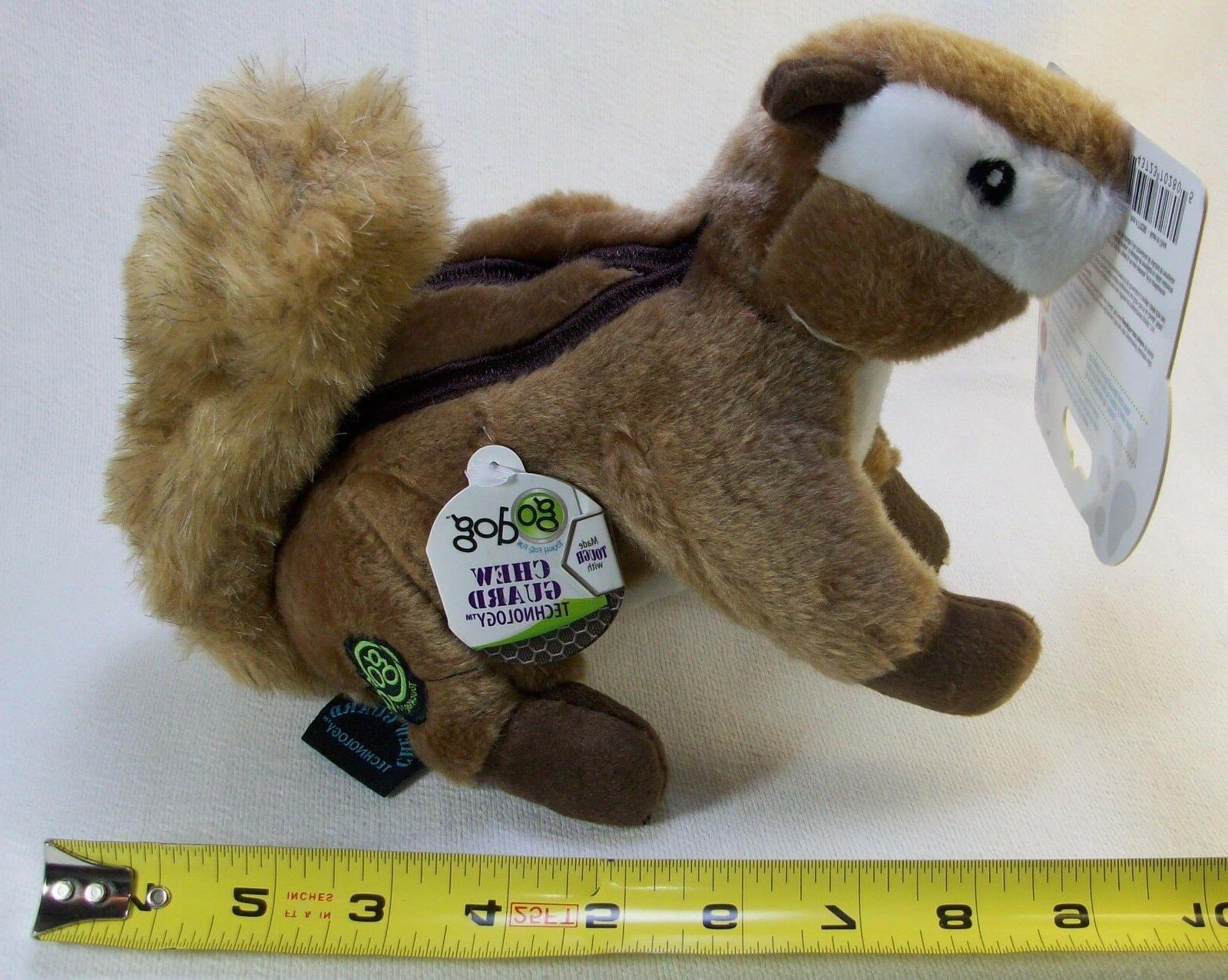 GoDog goDog Wildlife Chipmunk Dog Dog Toy Brand