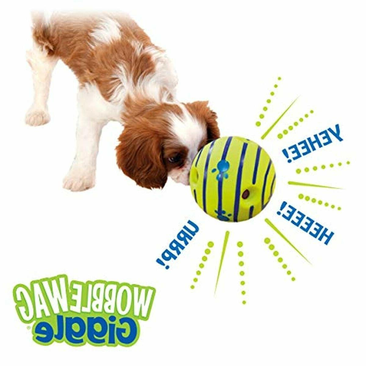 Allstar Innovations Wobble Wag Giggle Ball, Dog As Seen on BEST