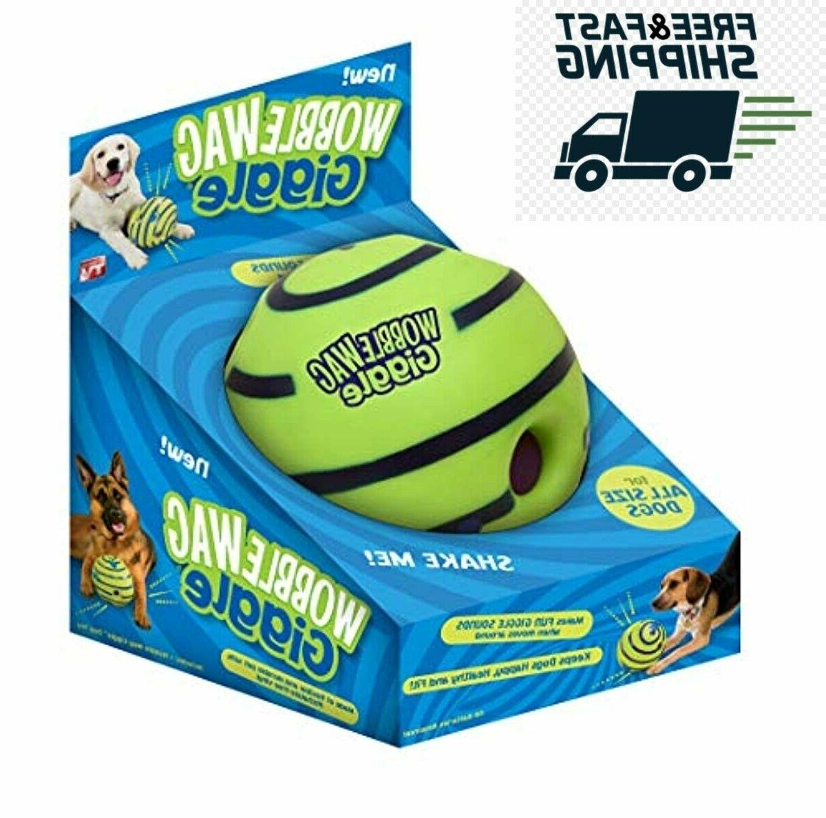 wobble wag giggle ball dog toy as