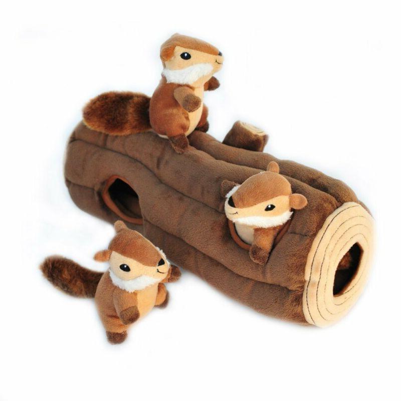 woodland friends burrow interactive squeaky hide